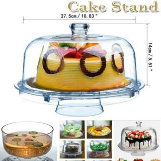 Clear Multifunctional Cake Stand