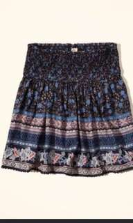 美國 橡筋腰裙