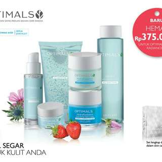 Skin care optimals hydra radiance set