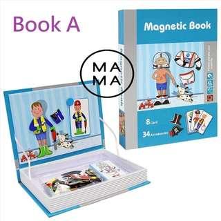 新淨 聰明寶寶培養專注力磁鐵玩具 Smart Kid Magnet Book