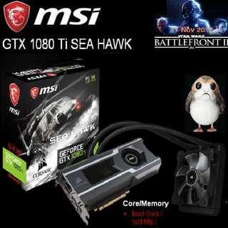 MSI GTX 1080 Ti SEA HAWK.