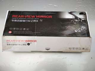 Rearview Mirror with built in dash cam