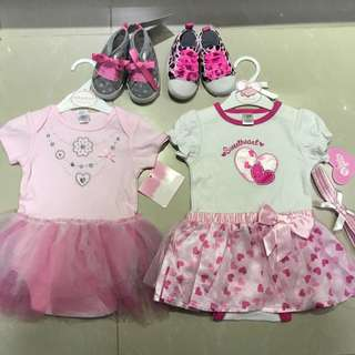Baby Clothes newborn gift set for girl shoes