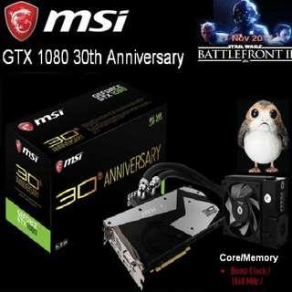 MSI GTX 1080 30th Anniversary  GeForce.