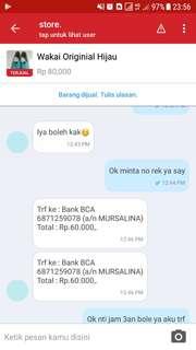 Hati2 dgn account Mursalina