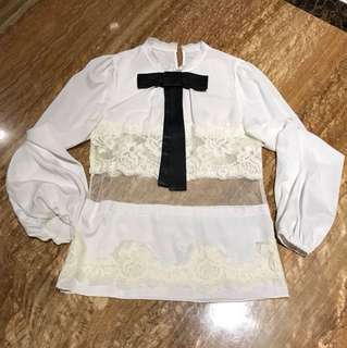 Chanel inspired blouse