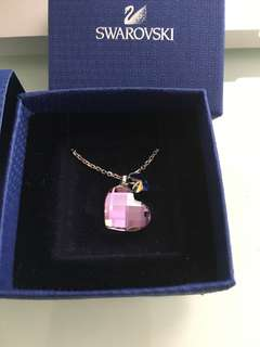Swarovski Mini Heart Pendant Crystal Necklace
