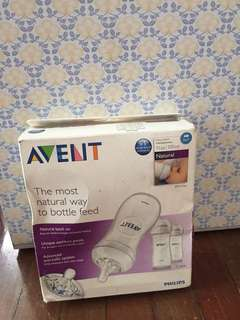 Avent 9oz Natural Bottle