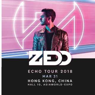 ZEDD ECHO TOUR 2018 LIVE IN HONG KONG