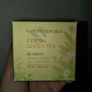Fresh green tea 80 cream