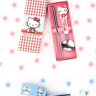 Hello Kitty cutlery