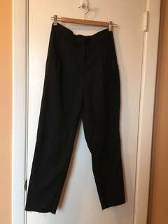 American Apparel high waist pleated pants