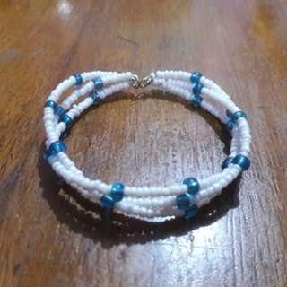 Handcrafted Memory Wire Beads Bracelet