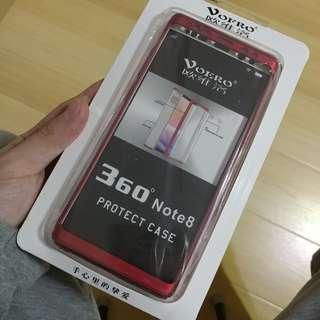 Samsung Note 8 紅色全包殼