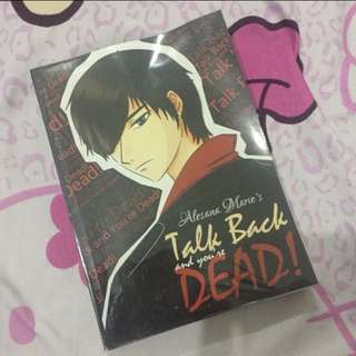 Talk Back and You're Dead by Alesana Marie