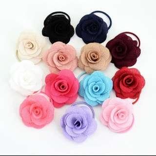 (IN TRANSIT) Rose hair ties