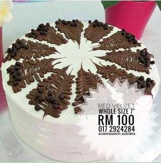 Red Velvet Cake Sabrina Bakery