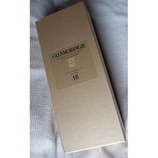 Glenmorangie 18yrs Highland Extremly Rare Single Malt Whisky