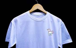 UNICORN retro design shirt