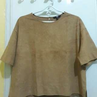 Uniqlo boxy blouse