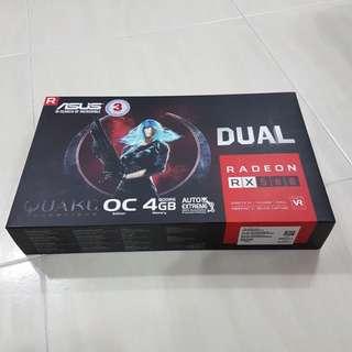 Asus RX580 4GB Dual OC GDDR