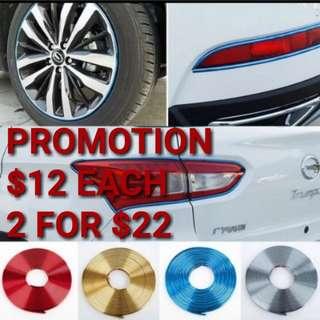 Car wheel rim protection protector