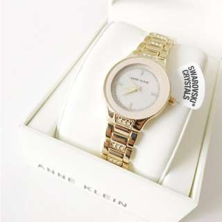 ANNE KLEIN Pink Blush Dial Ladies Watch AK 2460 PMGB