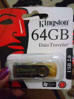 Cuci gudang Flashdisk kingstone 64GB