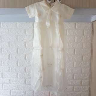 Baby boy baptismal dress
