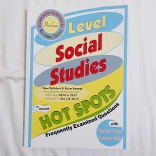 O level social studies pre examination exam revision notes
