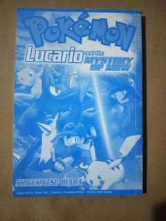 Lucario and the mystery of Mew (Pokemon comic book)