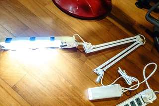 Fluorescent Table Lamp Clamp 11W