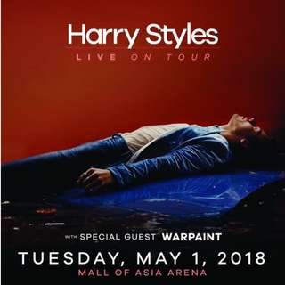 LOOKING FOR 2 GOLD/PLATINUM OR LB A FOR HARRY STYLES CONCERT IN MANILA ASAP