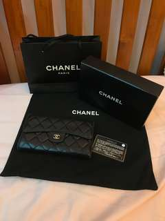 🚚 Chanel CC logo wallet