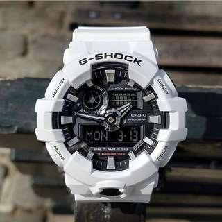 Jam Tangan Casio G-Shock GA 700 White Ori Bm