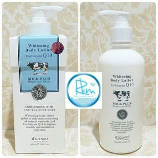 Sciento milk plus whitening beauty buffet
