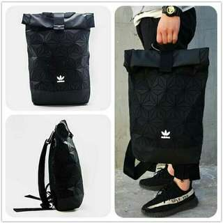 Adidas backpack bag 3D black New Limited edition RM150
