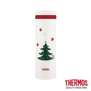 (全新)THERMOS膳魔師500ml聖誕節限定保溫杯保溫瓶JNO-500-CW