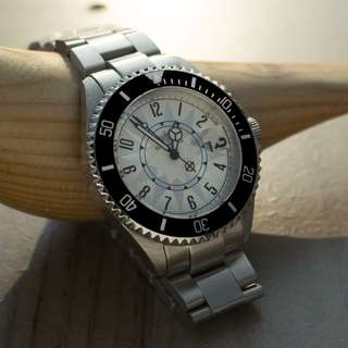 Breytenbach 鋼帶款式腕錶 (黑色)