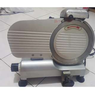 Professional Stainless Steel Semi-Auto Meat Slicer Electric Food Slicer