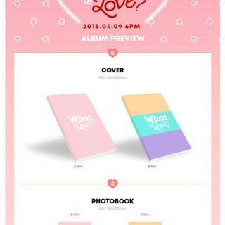 (No Photocard, Album Only ) ♡ Twice What is Love?