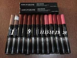 MUFE Lipstick & Lipbalm