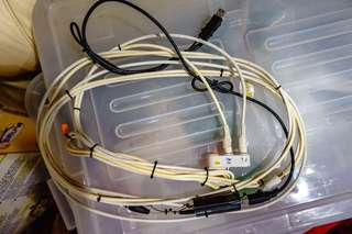 AverTV A828 and Analog TV cable and Splitter set