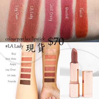 colourpop lux lipstick la lady 現貨