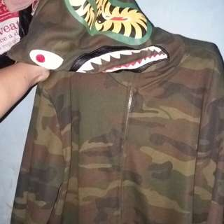 Bape jacket shark