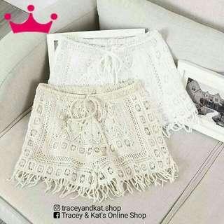 Lace Summer Shorts