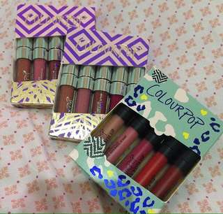Colourpop Minis