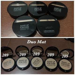 MUFE Duo Mat Powder 209