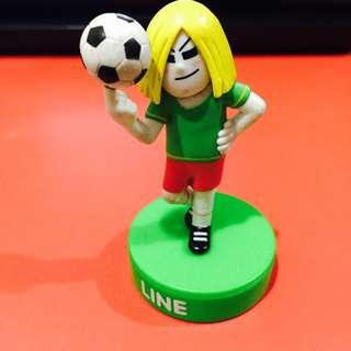 LINE Friends 7-Eleven - World Cup 2014 James Figurine