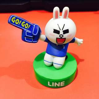 LINE Friends 7-Eleven - World Cup 2014 Cony Figurine